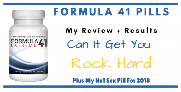 Formula 41 extreme pills featured image for review article 2018